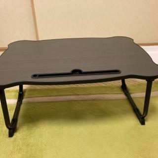 未使用・美品 折りたたみローテーブル