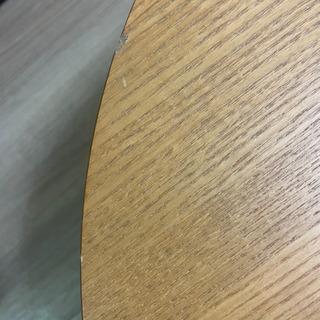 無印良品 楕円こたつ 直接引き取りのみ(値下げ) - 家具