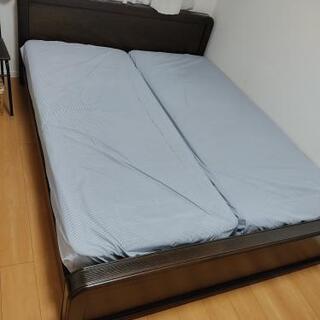 クイーンサイズ ベッド、マットレス