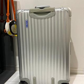リモワ スーツケース 63リットル 青ロゴ トパーズ