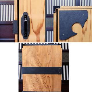 鬼の子が入ってそうな木箱(A)時代箪笥 − 福井県