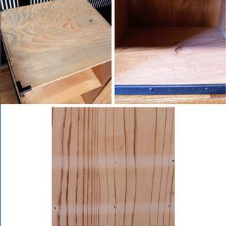 鬼の子が入ってそうな木箱(A)時代箪笥 - 売ります・あげます