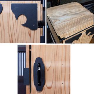 鬼の子が入ってそうな木箱(B)時代箪笥 − 福井県