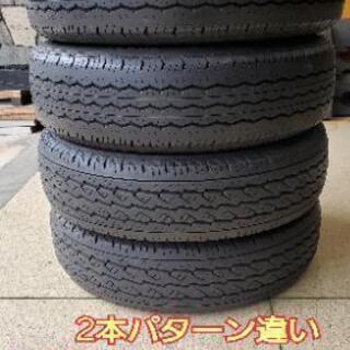 ハイエースやキャラバンに☆中古バンタイヤ 195/80R15 1...