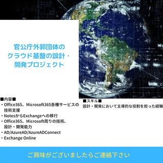 【官公庁外郭団体のクラウド基盤の設計・開発プロジェクト】