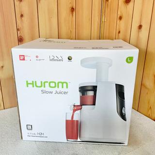 未使用 HUROM ヒューロム H2H スロージューサー ホワイト