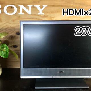 【激安‼️】SONY 液晶テレビ20型 HDMI×2個✨
