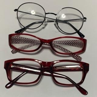 メガネ3個セット