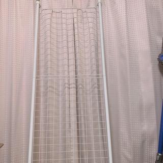 壁掛け パーテション メッシュ 高さ伸びます。