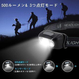 【新品・未使用】USB充電式 LEDライト