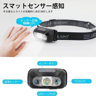 【新品・未使用】USB充電式 LEDライト − 東京都
