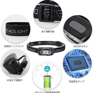 【新品・未使用】USB充電式 LEDライト - 生活雑貨
