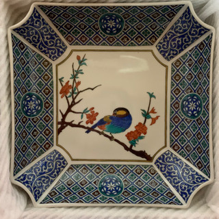 九谷焼 角皿の画像