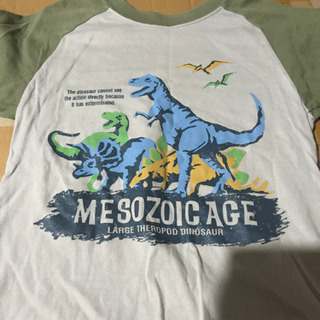 子供服 size 110 半袖 恐竜