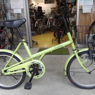 中古自転車1457 20インチ ギヤなし ダイナモライト …