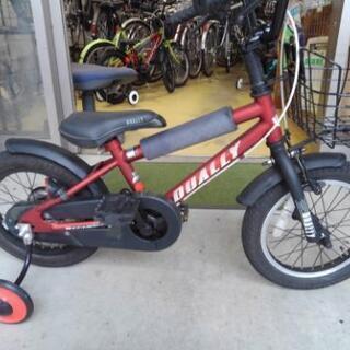 中古子供自転車1459 14インチ ギヤなし  身長94㎝…