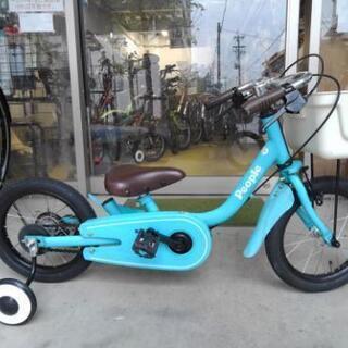 中古子供自転車1460 14インチ ギヤなし  身長86㎝…