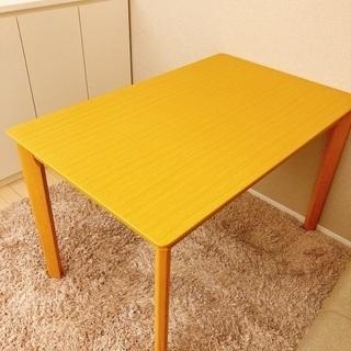 【新品】ダイニングテーブル(110×70×70.5)