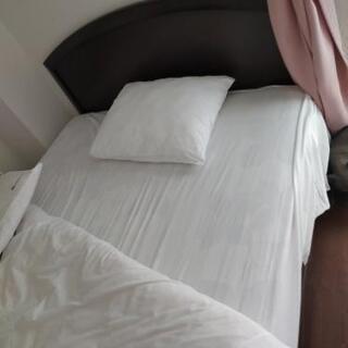 ベッド セミダブルサイズ