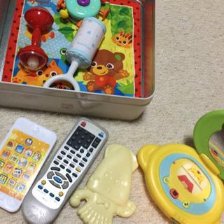 赤ちゃんのおもちゃ10点