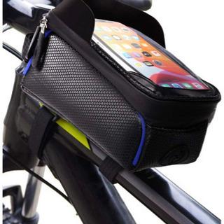 【新品】自転車バック ロードバイク バッグ トップチューブバッグ...