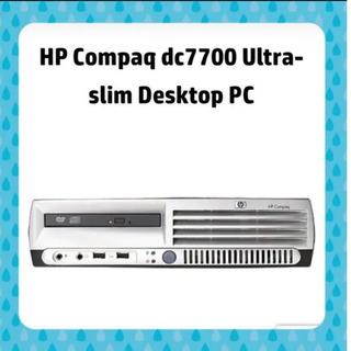 【ネット決済・配送可】HP パソコン本体 compaq dc77...