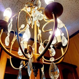 アンティーク風 シャンデリア 天井照明