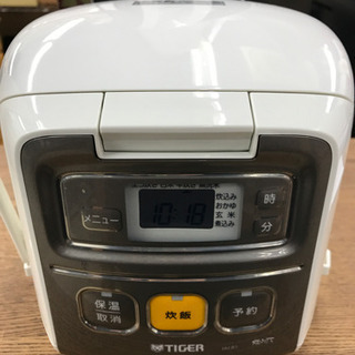 TIGER タイガー JA1-R1 2017年製 3合 炊飯器