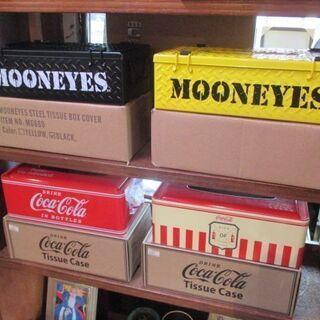 【商品のお知らせ】コカコーラ&MOONEYES アイアン製ティッ...