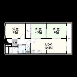 【賃貸マンション】🏢帝塚山3LDK 4階🛁貸主直契約👨👩👦初...