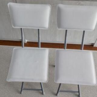 ニトリ折り畳み式椅子差し上げます