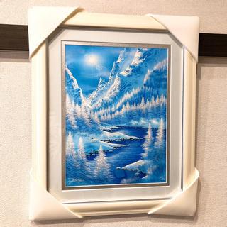 ジョン・ラッテンベリー絵画「氷結の煌めき」