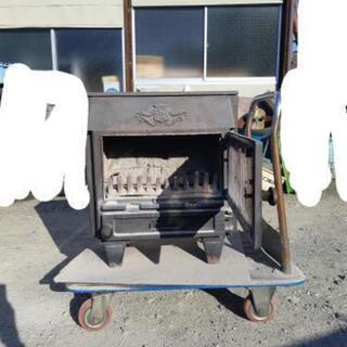 レトロ アンティーク 鋳物製ストーブ