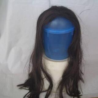 ★女性ウィッグ サイズM 長さ60cm 濃いブラウン(新品…