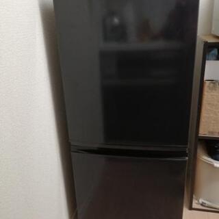 引取決まりました【0円】冷蔵庫(一人暮らし用・137L)