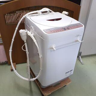 【訳あり】シャープ 全自動洗濯機 6㎏ 2012年製 ES-GE60L