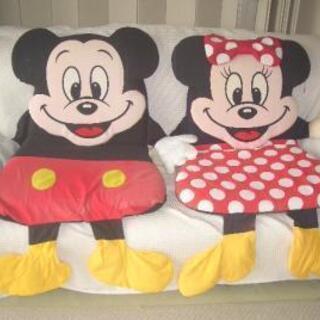 超レア(非売品)★ミッキーマウス& ミニーマウス ◎リクライニン...