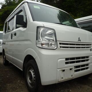 (ID3142)軽バン専門店在庫50台 33万円 三菱 ミニキャ...