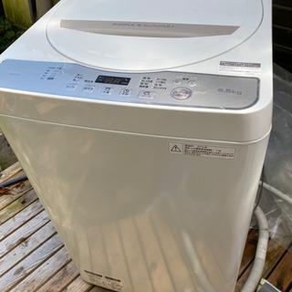 【ネット決済】シャープ洗濯機 ES-G55TS 5.5kg 20...