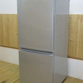 【ネット決済・配送可】【中古】rr1423 シャープ 冷凍冷蔵庫...