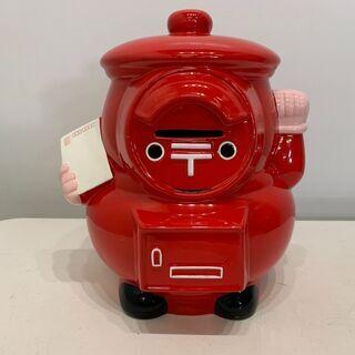 (210413)  2005愛・地球博 郵便ポスト型貯金箱