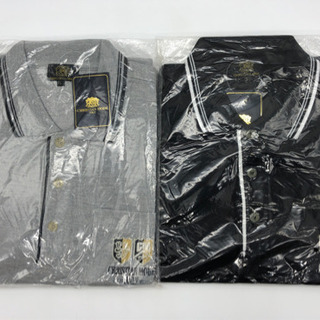 未使用■メンズ■ポロシャツ■Lサイズ■黒とグレー