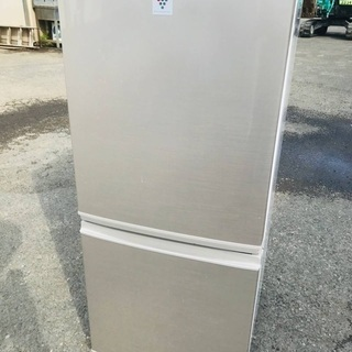 ♦️EJ337B SHARPノンフロン冷凍冷蔵庫 【2014年製】