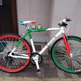 BENETTON[ベネトン ]700cクロスバイク トリコ…