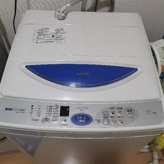 SANYO☆洗濯機2003年製☆7.0㌔中古