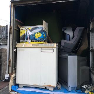 ★家屋の中の残地物を積み込み、搬入するお仕事です★