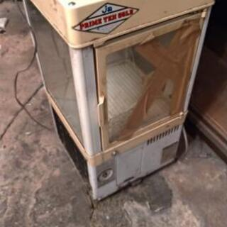 【ジャンク】差し上げます ガラスケース冷蔵庫
