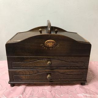 裁縫箱(ソーイングボックス 小物入れ)