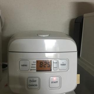 炊飯器(今週中取引限定:500円)