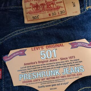 Levi's501新品未使用W30L30